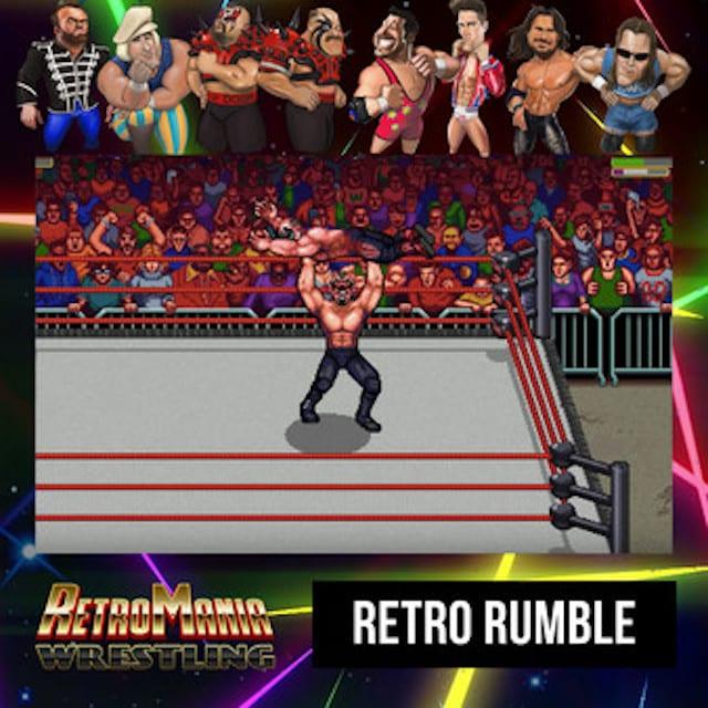Retromania Wrestling Retrosoft Studios PAX East 2020 preview