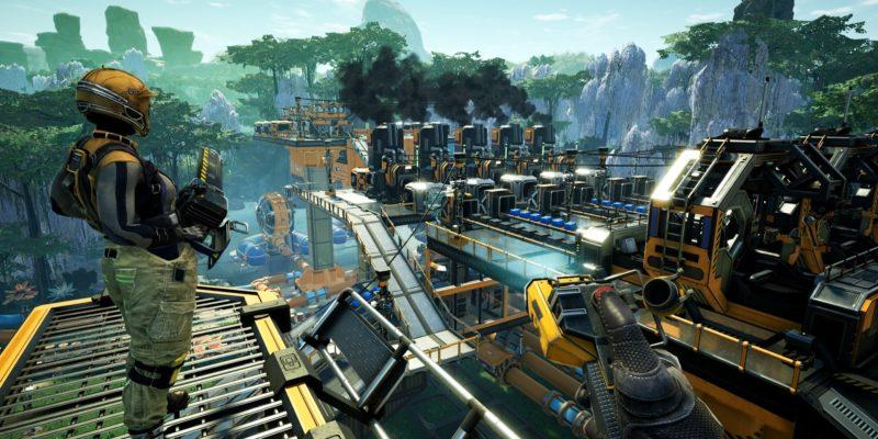 Satisfactory Steam release Coffee Stain Studios