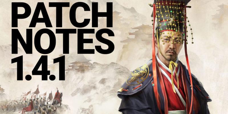 Total War Three Kingdoms Mandate Of Heaven Hotfix Patch 1.41 Liu Hong Liu Beu Duplicates Red Hare Lu Bu