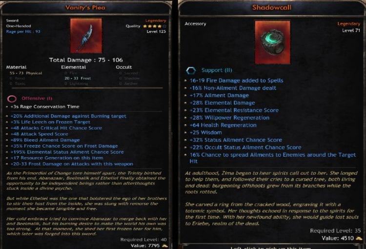 Wolcen Lords Of Mayhem Bug Exploit Dark Market Item Rarity Unique Op Broken Legendary Bug