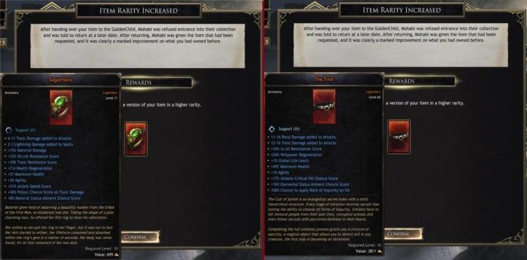 Wolcen Lords Of Mayhem Patch 1.05 Hotfix Bleeding Edge Nerf Unique Item Legendary Item Exploit Fix Dark Market Fix