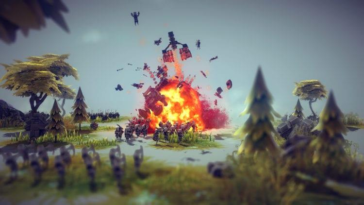 Besiege Explosion
