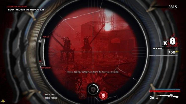Dead Ahead Mission 1 Vamp Scope