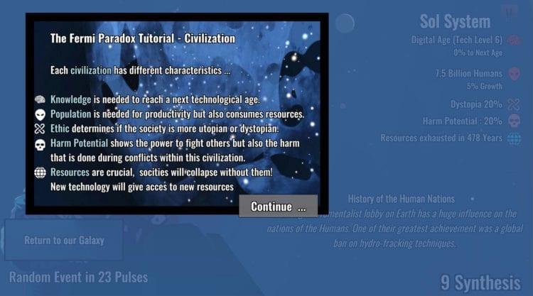 Fermi Paradox stats