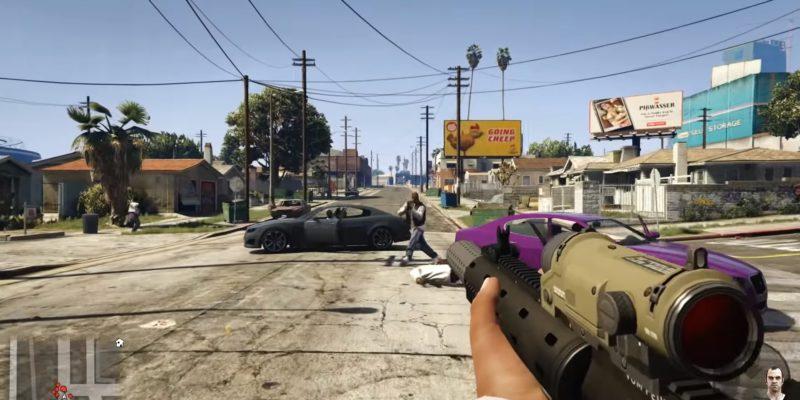 GTA V REAL mod VR