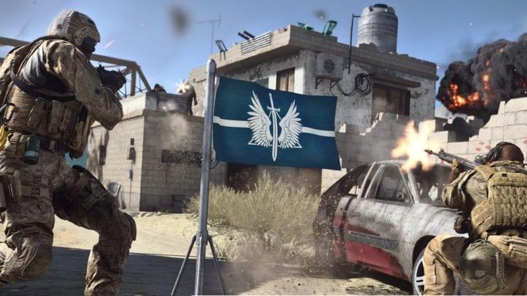 Modern Warfare Paul Haile Infinity Ward Capture The Flag