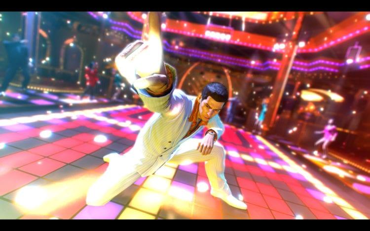 Yakuza 0 Dance