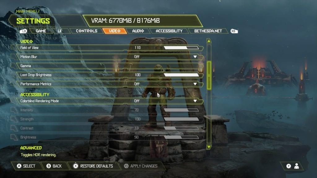 Doom Eternal technical review PC specs performance id Software Bethesda