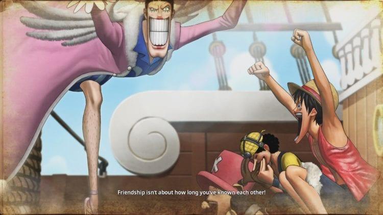 One Piece: Pirate Warriors 4 friendship