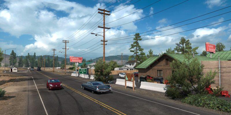 American Truck Simulator Idaho Historical Sign