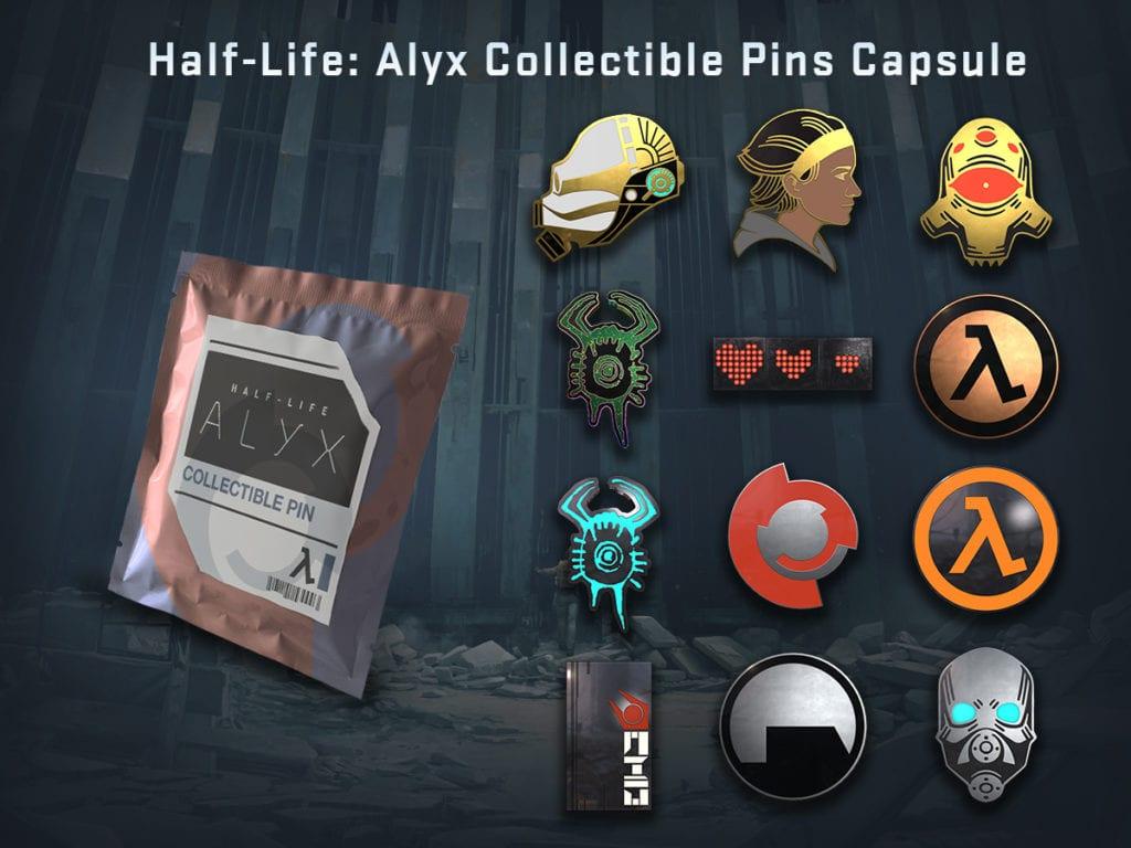Cs Go Half Life Alyx Pins