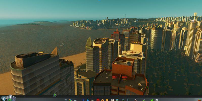 Cities Skylines Sunset Harbor 1