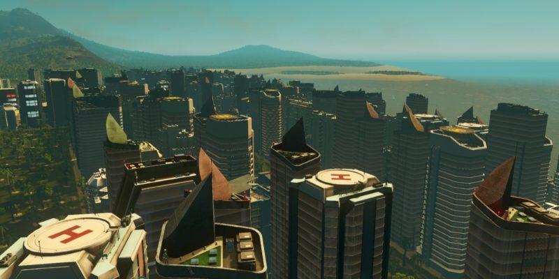 Cities Skylines Sunset Harbor 2