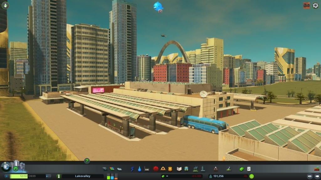 Cities Skylines Sunset Harbor Intercity Bus