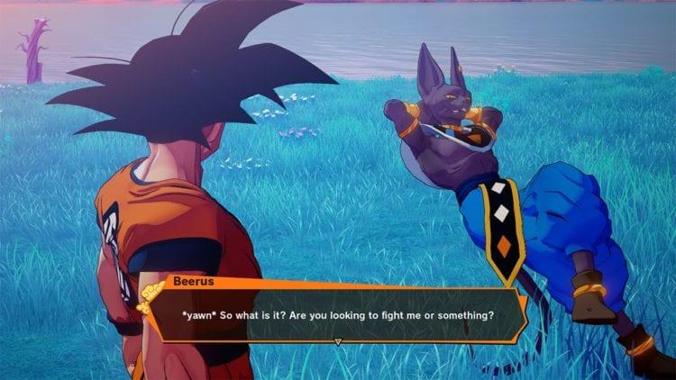 Dragon Ball Z Kakarot DLC Beerus