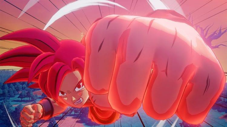 DBZK Super Saiyan God Goku