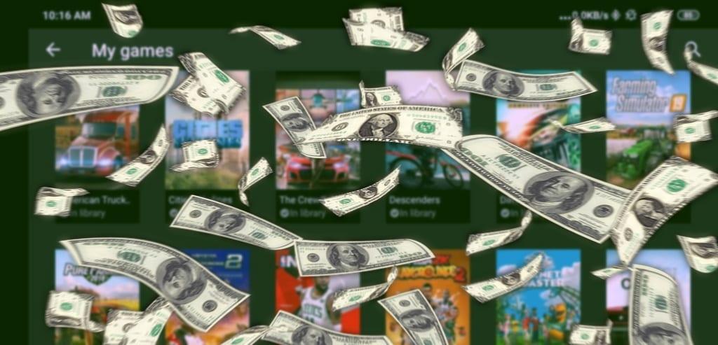Geforce Now Money Falling