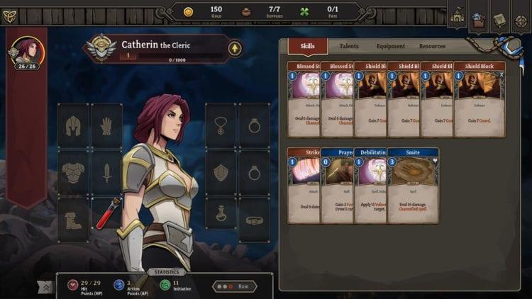 Gordian Quest Hero Catherin