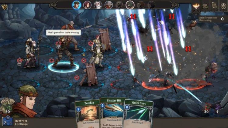 Gordian Quest Battle Reignof Fire Skill