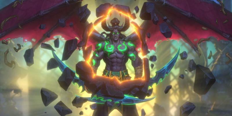 Hearthstone Demon Hunter Illidan Stormrage
