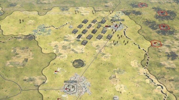 Panzer Corps 2 Pc Technical Review Graphics Comparison 3 Low