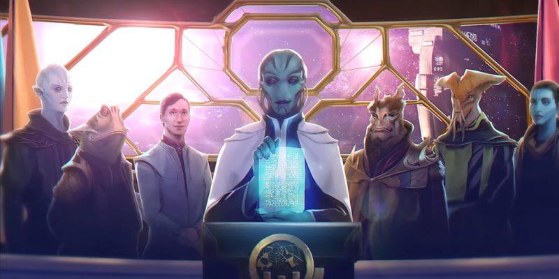 Stellaris Federations Expansion Dlc Preview Galactic Community, Galactic Senate, Empire Origins
