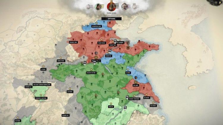 Total War Three Kingdoms A World Betrayed Cao Cao Guide Anti Yuan Shao Coalition 1