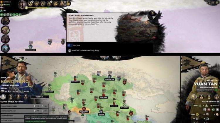 Total War Three Kingdoms A World Betrayed Cao Cao Guide Anti Yuan Shao Kong Rong