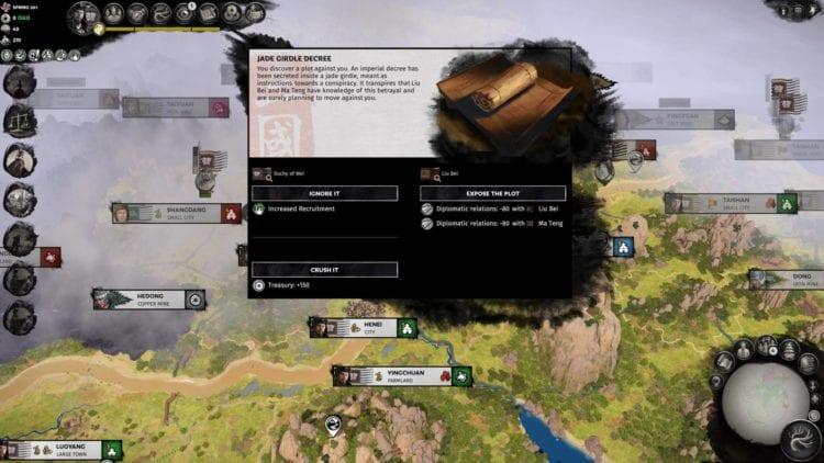 Total War Three Kingdoms A World Betrayed Cao Cao Guide Emperor Jade Girdle
