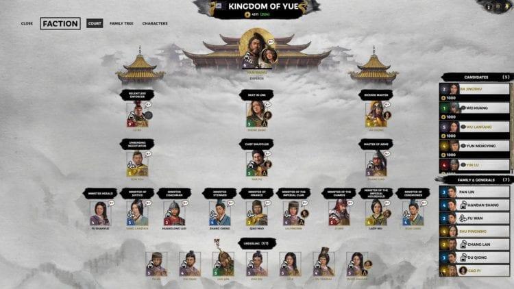 Total War Three Kingdoms A World Betrayed Yan Baihu Faction Guide Bandit Factions Zheng Jiang Zhang Yan White Tiger Bandit Network Kingdom Of Shanyue