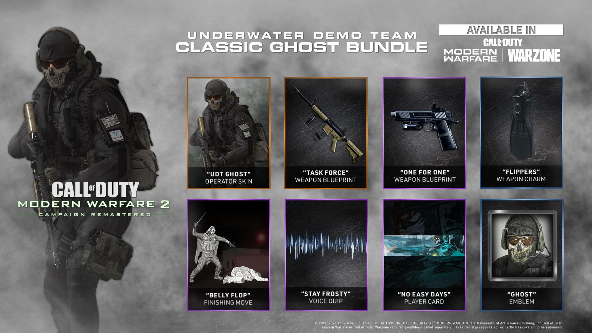 Call Of Duty Modern Warfare Ii 2 Remastered Udt Bundle