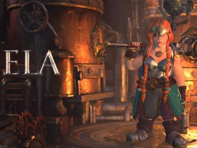 Warhammer: Chaosbane Keela dwarven engineer