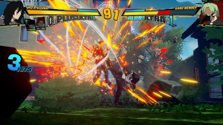 My Hero Ones Justice 2 Fighting