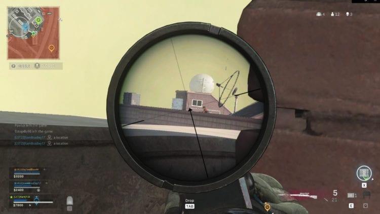 Sniper Warzone