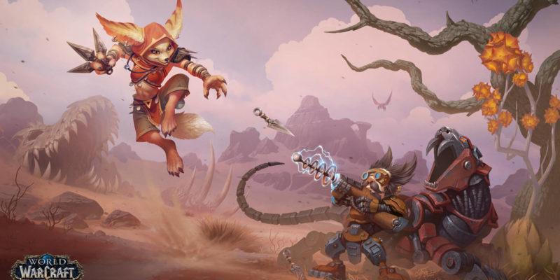 Blizzard World of Warcraft realms merged