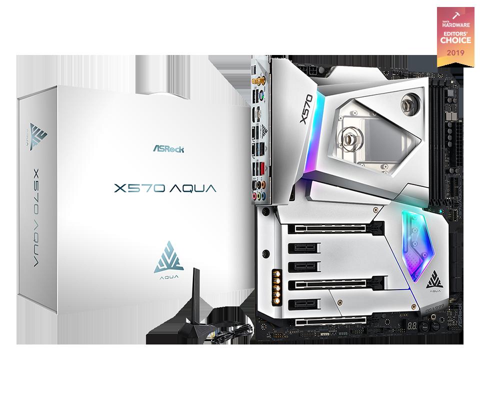 ASRock Aqua motherboard