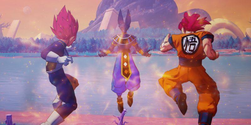Dragon Ball Z Kakarot Super Saiyan God Versus Beerus DLC