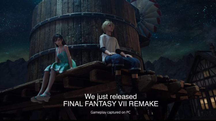 Final Fantasy Vii Pc Port Gameplay Captured On Pc