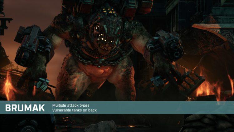 Gears Tactics Brumak Boss Fight Guide Start 1