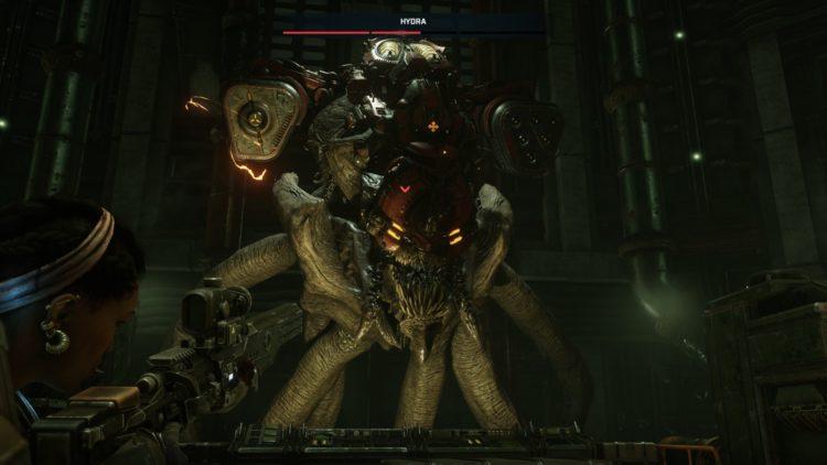 Gears Tactics Hydra Boss Fight Guide Mikayla Shot