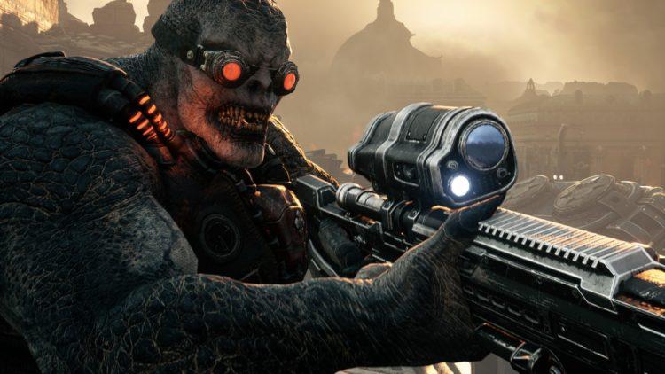 Gears Tactics Locust Horde Enemy Units Guide 5 Sniper Drone