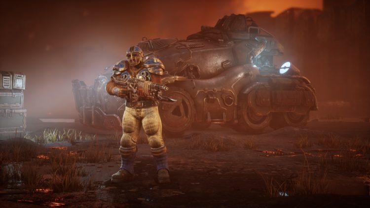 Gears Tactics Guide How To Unlock Recruit Augustus Cole Dlc Start Thrashball Armor Set