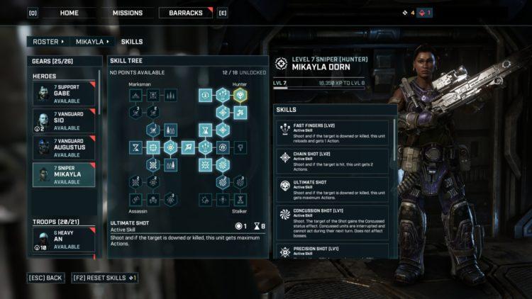 GTlev - sniper abilities