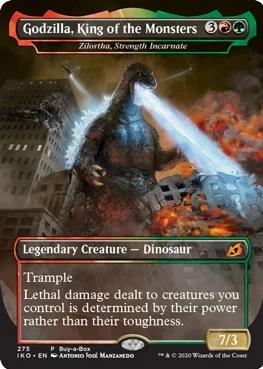 Godzilla Set To Invade Magic The Gathering In New Set (3)