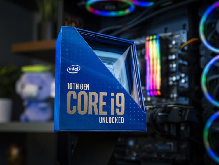 Процессор Intel I9 10900k