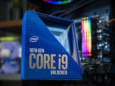 Intel I9 10900k CPU prices
