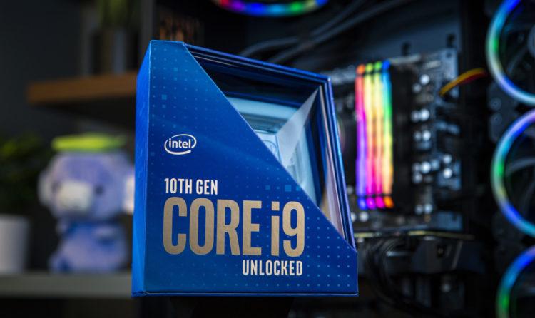 Intel I9 10900k processor