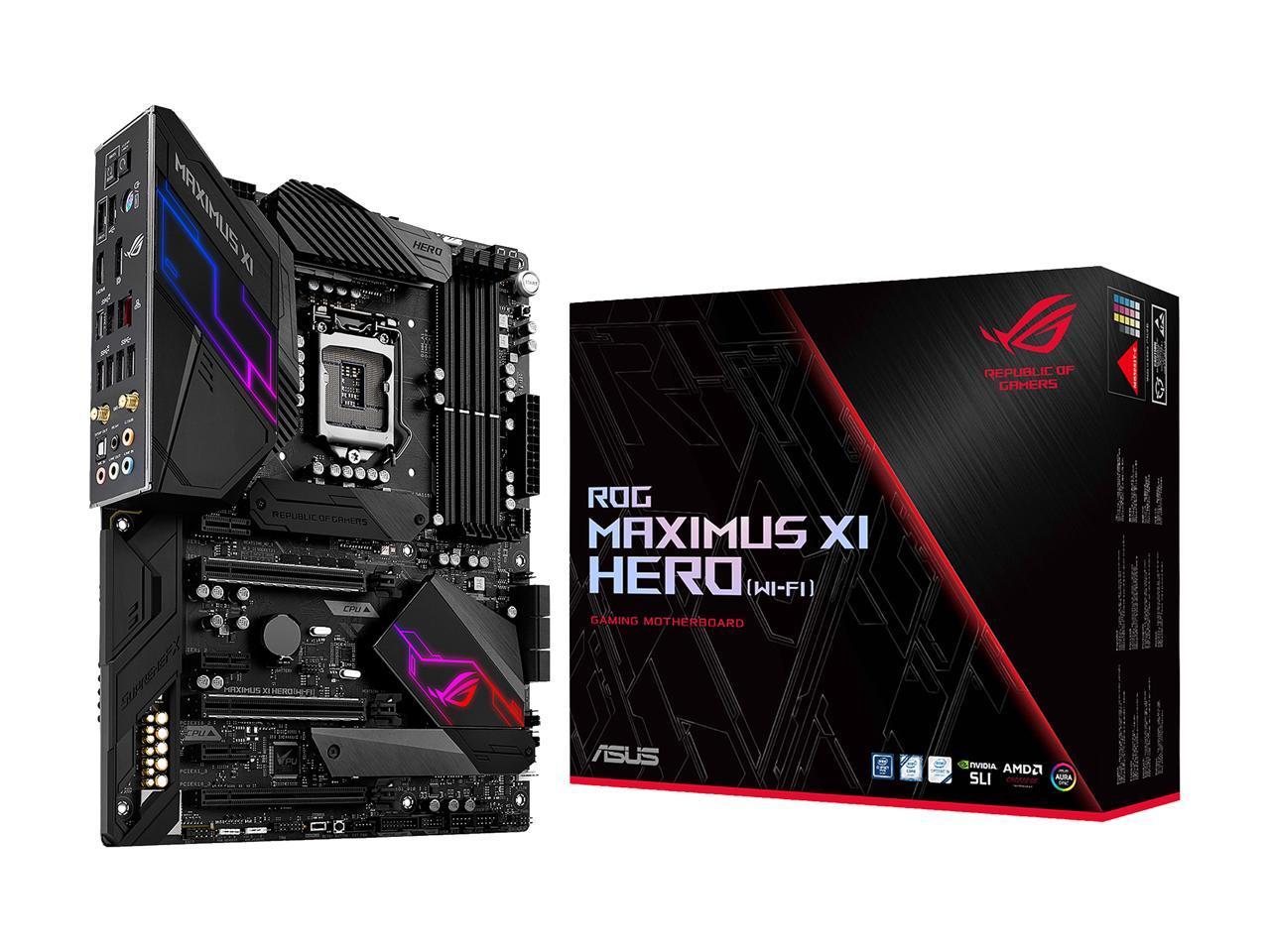 Best ASUS motherboard Maximus xi hero