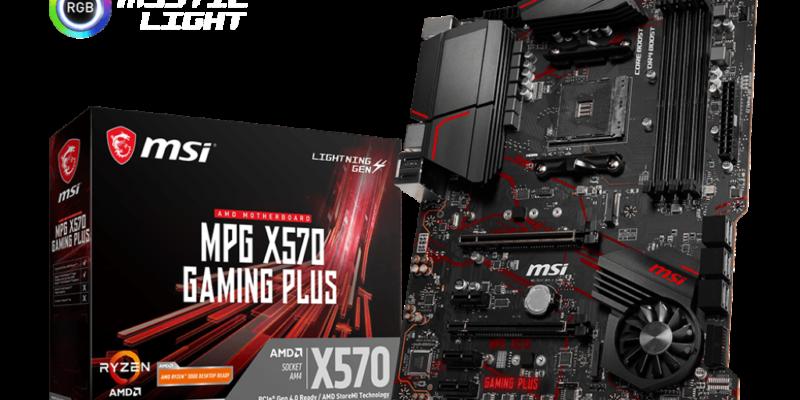 MSI MPG X570 Gaming Plus best motherboards