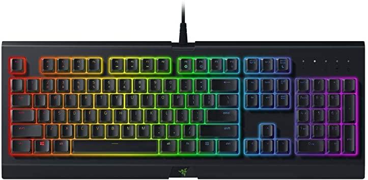 Best membrane gaming keyboard Razer Chroma